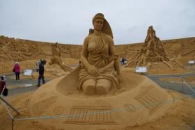 Sandskulptur 017