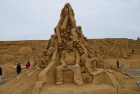 Sandskulptur 018