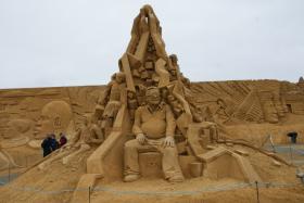 Sandskulptur 019