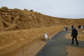 Sandskulptur 020