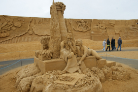 Sandskulptur 021
