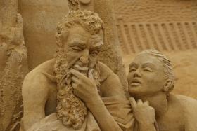 Sandskulptur 022