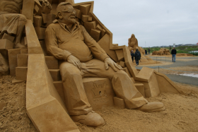 Sandskulptur 023
