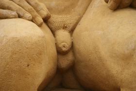 Sandskulptur 026