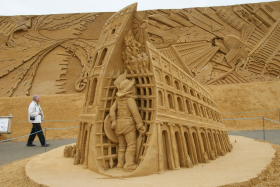 Sandskulptur 027