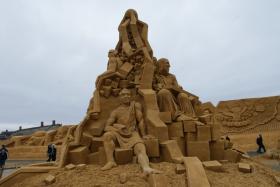 Sandskulptur 028