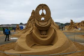 Sandskulptur 032