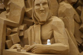 Sandskulptur 033