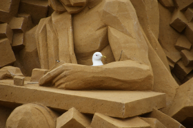 Sandskulptur 034