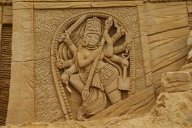 Sandskulptur 036