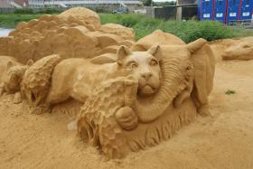 Sandskulptur 037