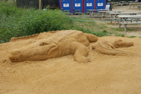 Sandskulptur 038