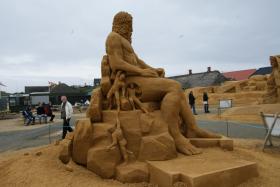 Sandskulptur 039