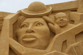 Sandskulptur 040
